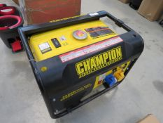 Champion petrol powered compressor