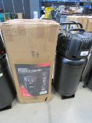 Airmate Hurricane 50l upright compressor with box, damage valve