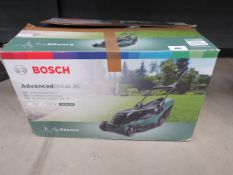 Bosch Advanced Rotak 36 electric mower