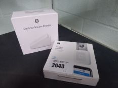 Square reader chip and pin contactless payment device with dock