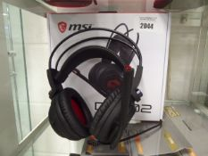 MSi DS50 2 gaming headset with box
