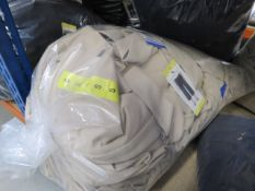Bag containing approx 23 pairs of Andrew Mark trousers in latte size M-L