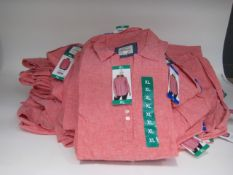 40 x ladies tops by Jachs of New York in pink, linen and cotton mix, size M-XL