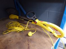 Yellow Mcculloch electric strimmer