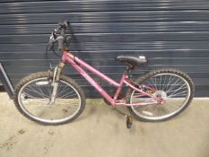 Pink Apollo vivid girl's bike