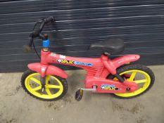 Super Yak plastic framed electro child's BMX