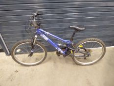 Blue Apollo suspension mountain bike