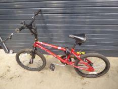 Dunlop red BMX