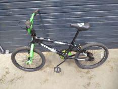 Black muddyfox BMX