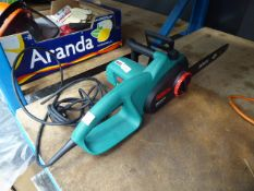 Bosch electric chainsaw - no blade
