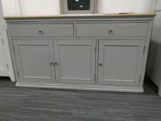 Large sideboard in grey (26)