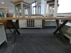Urban Industrial Oak 1.8m Dining Table (9)