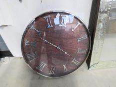 A quartz wall clock