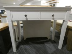 Gloucester White Painted Oak Dressing Table (11)