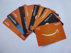 Amazon (x11) - Total face value £160