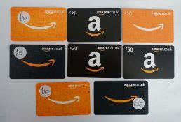 Amazon (x8) - Total face value £160