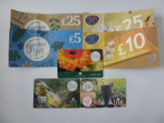 Various : Gardening (x6) - Total face value £115