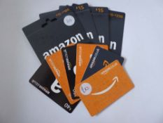 Amazon (x10) - Total face value £215