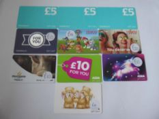 Various : Supermarket (x10) - Total face value £95