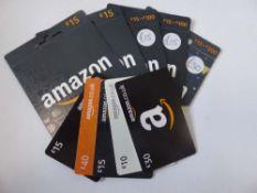 Amazon (x10) - Total face value £200