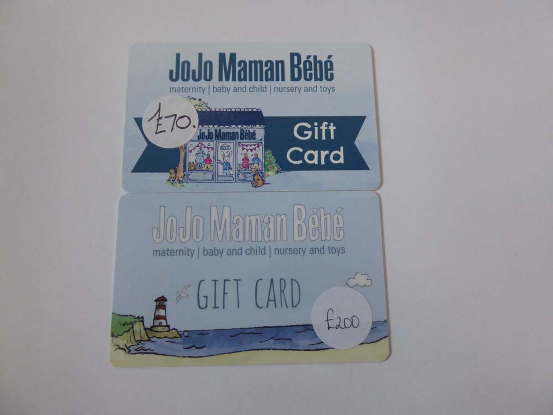 Jojo Mamam Bebe (x2) - Total face value £270