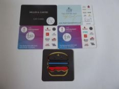 Various : Food & Dining (x5) - Total face value £105