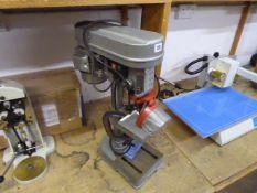 Wickes table top pillar drill