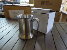 Six boxes of 20 heavy tankards (120 in total)