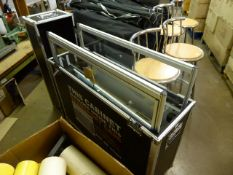 Foldingcabinets.co.uk mobile display cabinet in travel case