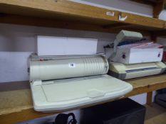 Rexel binder and a laminator