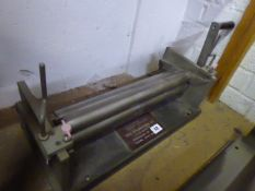 Idea Engineering Co. small adjustable 3 bar metal rollers