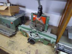 Autoguil Roteguil bench mounted miter guillotine cutter