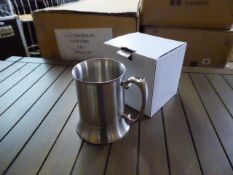 Four boxes of 20 heavy tankards (80 in total)