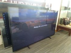 R12 65 Phillips Ambilight 4K Ultra HD TV 65PUS6704/12 inc Box B16