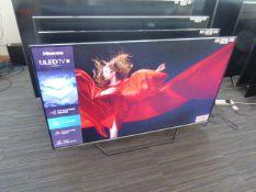 R9 55'' Hisense 4K ULED TV 55U7QFTUK inc Box B13