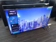 R7 55'' Hisense 4K TV 55A7100FTUK inc Box B10