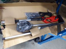 4054 - Einhell electric long reach hedge cutter