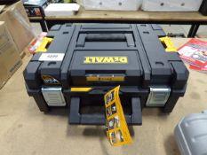 Empty Dewalt toolcase