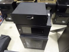 4129 - 2 small comms cabinets plus single drawer