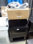 4139 - 2 small comms cabinets with a quantity of accessories