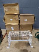 8 letterbox wire baskets