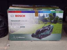 4071 - Boxed Bosch AdvancedRotak 36 electric mower