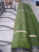 Large 4m x 7m roll of astro turf