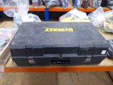 Large Dewalt toolcase
