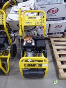 4203 Champion petrol powered pressure washer no hose