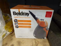 Boxed Beldray steamer