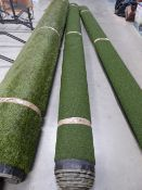 4m x 4m roll of astro turf