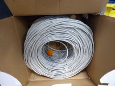 Roll of UTP network cable