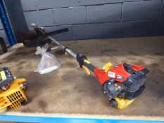 Rid Homelite petrol powered brush cutter