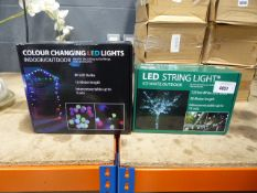 2 boxes of LED string lights